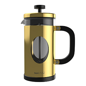 BonVIVO Gazetaro Cafetera French Press