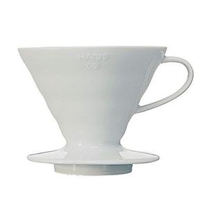 Cafetera Dripper V60 Cerámica Color Blanco
