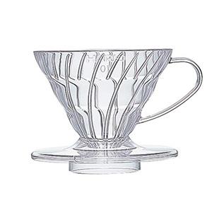 Cafetera Dripper V60 De Plástico Transparente