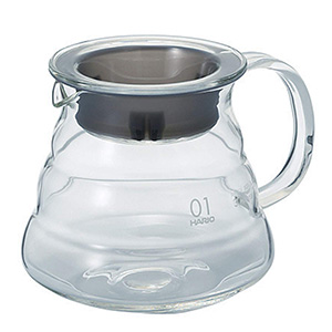 Hario Recipiente De Vidrio 360ml Para Cafetera V60 Dripper