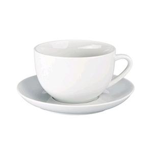 Demitasse Para Cappuccino Y Café Latte 18oz Set 2 Tazas Y Platillos