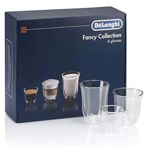 Kit De Tazas Delonghi Cristal Doble Para Espresso Y Cappuccino