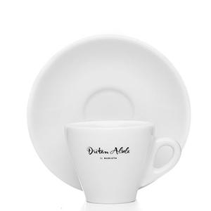 Dritan Alsela Demitasse Para Café Espresso Set De 6 Tazas Y Platillos