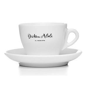 Dritan Alsela Taza Para Café Cappuccino O Té Set De 6 Tazas Y Platillos
