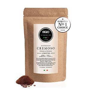 KIQO Cremoso Espresso Café Tostado Premium Italia