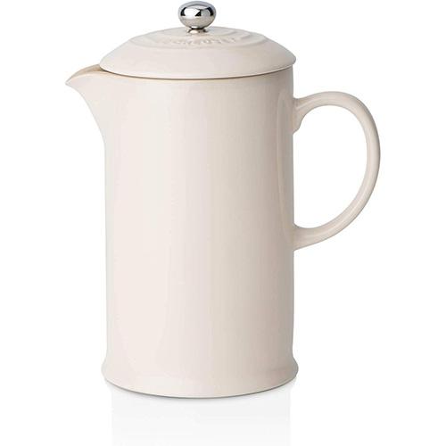 Le Creuset Stoneware Cafetera De Émbolo De Cerámica