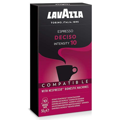 Lavazza Cápsulas De Café Compatibles Nespresso Espresso Deciso