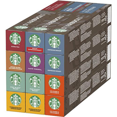 Starbucks Nespresso De 10 Cápsulas De Café De 8 Sabores