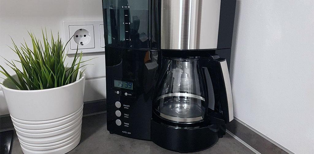 Melitta Optima Timer Cafetera Automatica En La Encimera De La Cocina