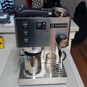 Rancilio Silvia Máquina Espresso Semi-Automatica