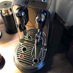 Cafetera Monodosis Sage Nespresso The Creatista Plus