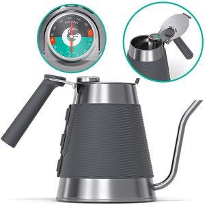 Hervidor De Agua True Brew De Coffee Gator Profesional Con Cuello De Cisne De Precisión