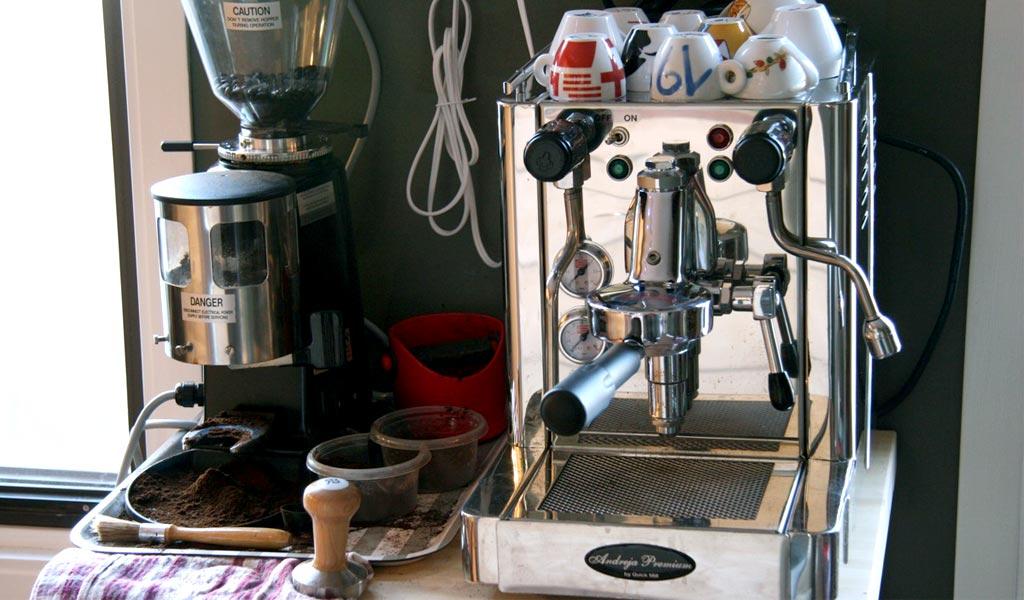 Quick Mill Andreja Premium Maquina Espresso Profesional