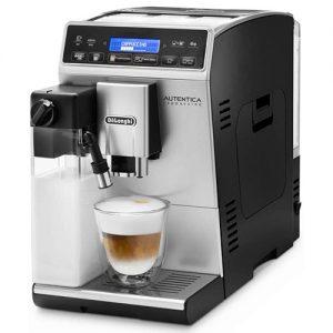 Cafetera Superautomática De'longhi Autentica Cappuccino Con Espumador De Leche Y Recetas Automáticas