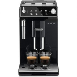 Cafetera Superautomática De'longhi Autentica Para Espresso Y Cappuccino Molinillo De Café Silencioso