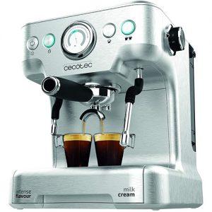 Cecotec Cafetera 20 Barista Pro Para Café Y Cappuccino