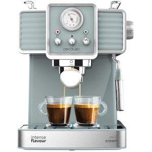 Máquina De Café Cecotec 20 Tradizionale Para Espressos Y Cappuccinos
