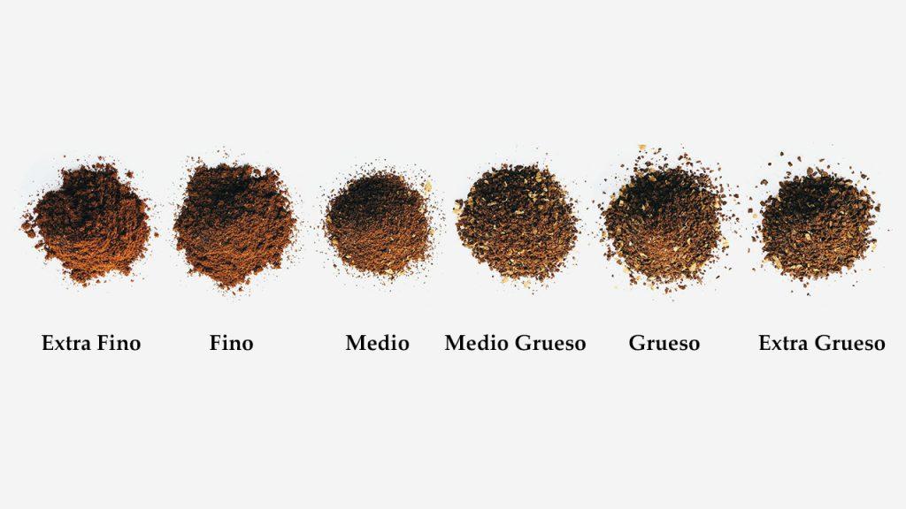 Los Diferentes Tipos De Molidos De Café Para Los Diferentes Métodos De Preparación De Café