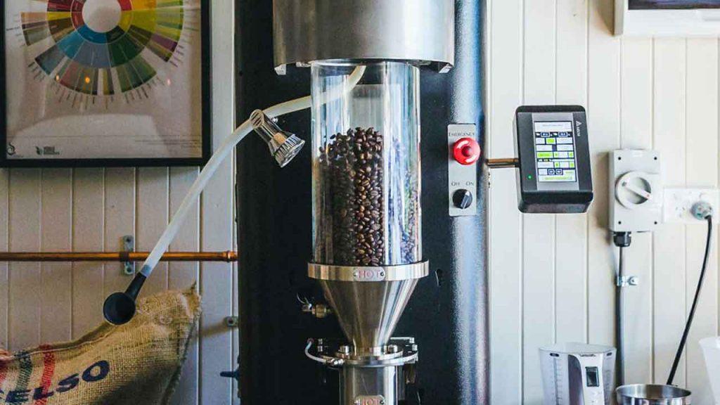 Modelo De Tostador De Aire Para Granos De Café Verde