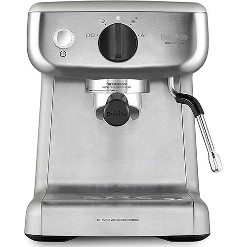Breville Mini VCF125X Barista Máquina De Café Espresso Semiautomática Para Oficina