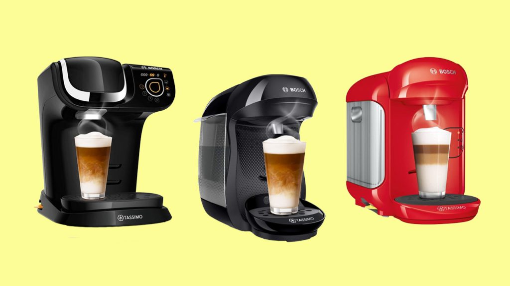 Cafeteras Tassimo Multibebidas Automáticas