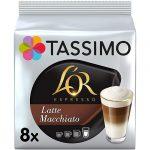Cápsulas compatibles con cafeteras Tassimo L'OR Latte Macchiato