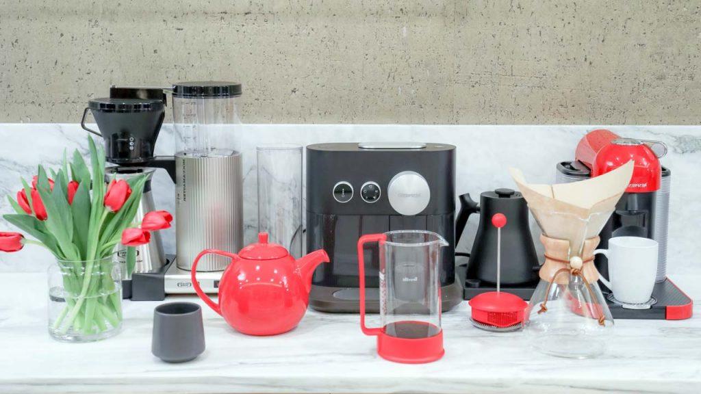 Diferentes Tipos De Cafeteras Para Hacer Café En Casa