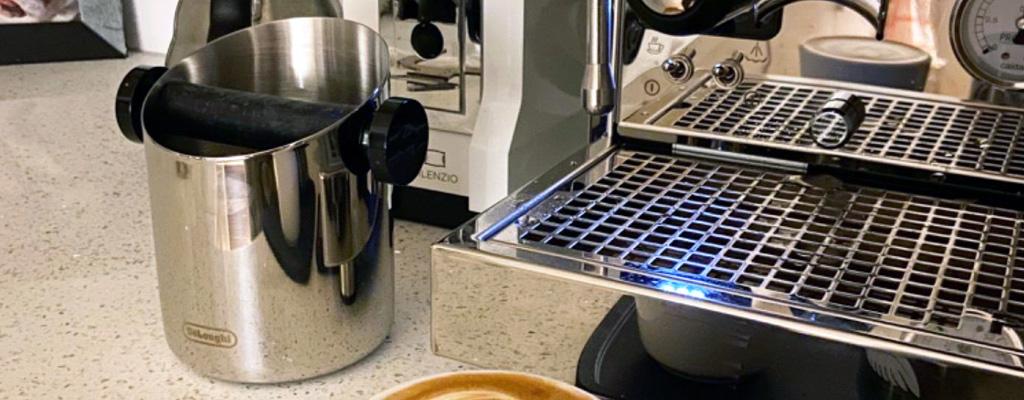 Bote Para Tirar Los Residuos Posos De Café Herramienta Para Baristas