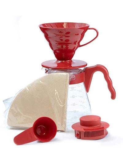 Hario-Cafetera-Pour-Over-V60-Tamaño-02-Rojo-Comparativa